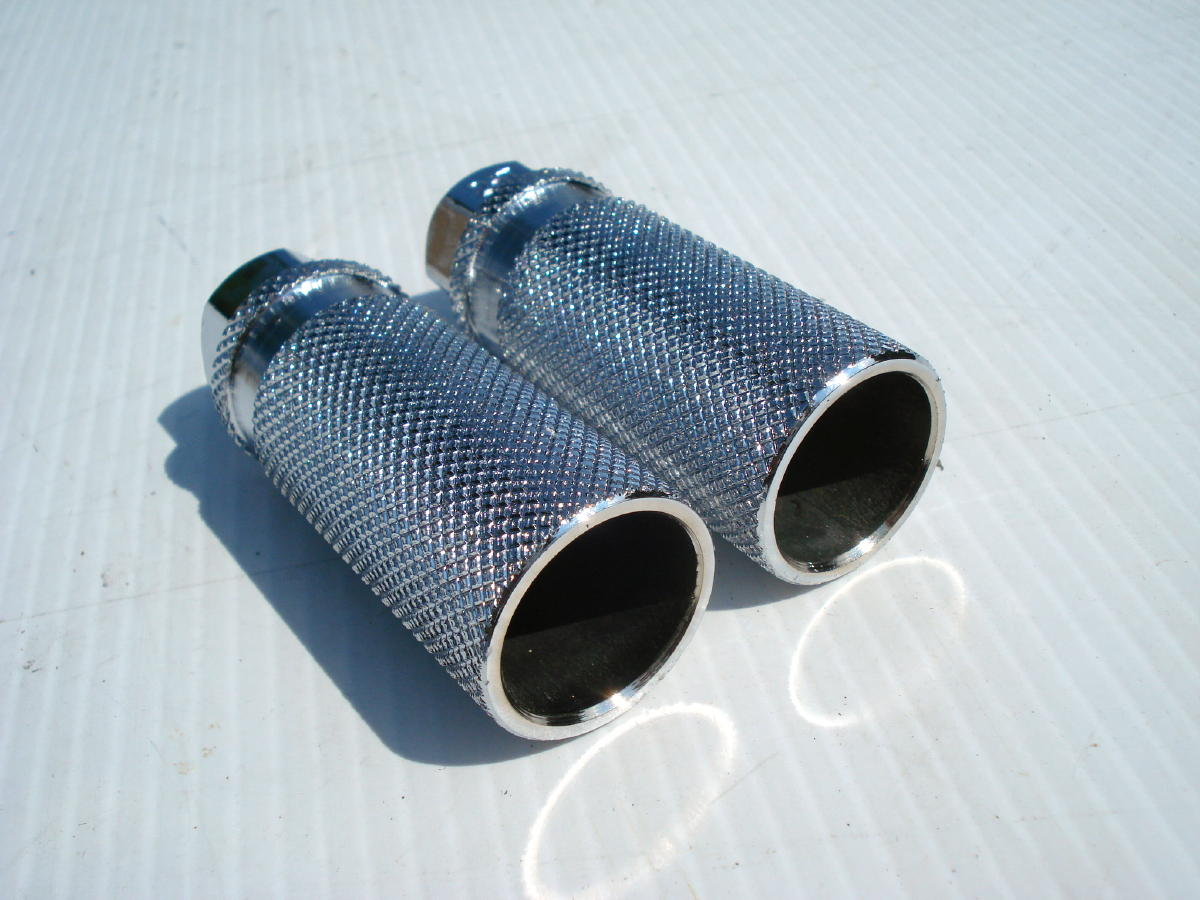 Bicycle Axle Extensions : Nos mongoose bmx bicycle axle extenders foot pegs gt haro